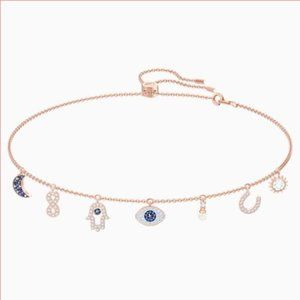 Swarovski Symbolic Necklace, Rose-gold